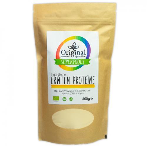 Original Superfoods Biologische Erwten Proteine 400 Gram