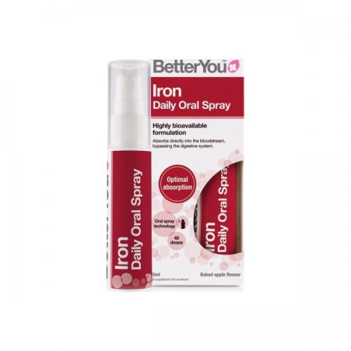 Iron Oral Spray 25 ML - BetterYou