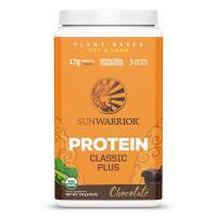 Sunwarrior Classic Plus Biologische Proteïne Chocolade Smaak - 750 Gram