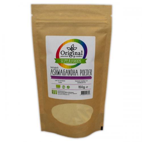 Biologische Ashwagandha Poeder 150 Gram - Original Superfoods