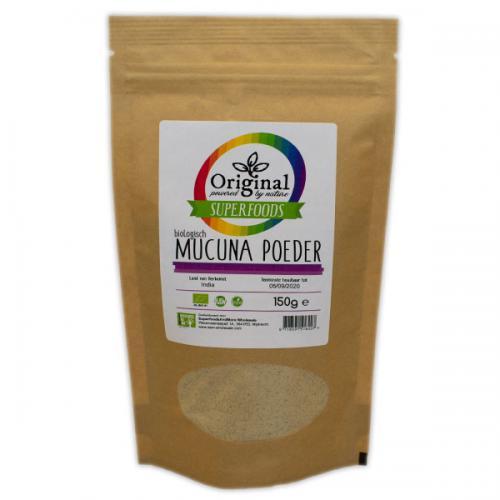Original Superfoods Biologische Mucuna Poeder 150 Gram