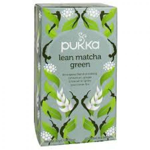 Pukka Biologische Lean Matcha Green 20 Zakjes