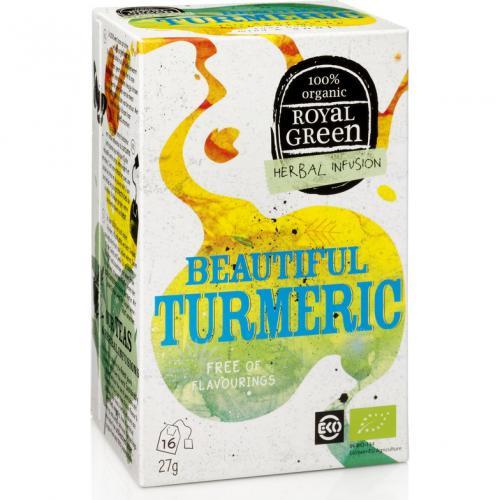 Royal Green Biologische Beautiful Turmeric Thee 16 Zakjes