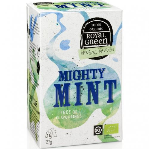 Royal Green Biologische Mighty Mint Thee 16 Zakjes
