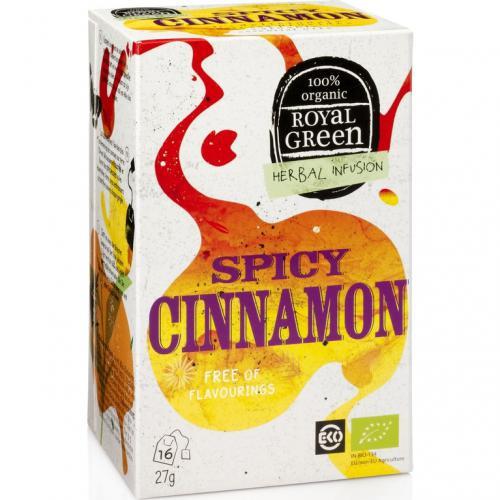 Royal Green Biologische Spicy Cinnamon Thee 16 Zakjes