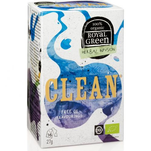 Royal Green Biologische Clean Thee 16 Zakjes