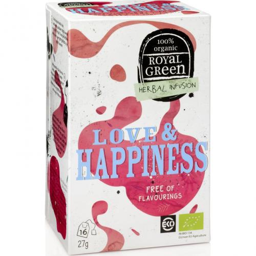 Royal Green Biologische Love & Happiness Thee 16 Zakjes