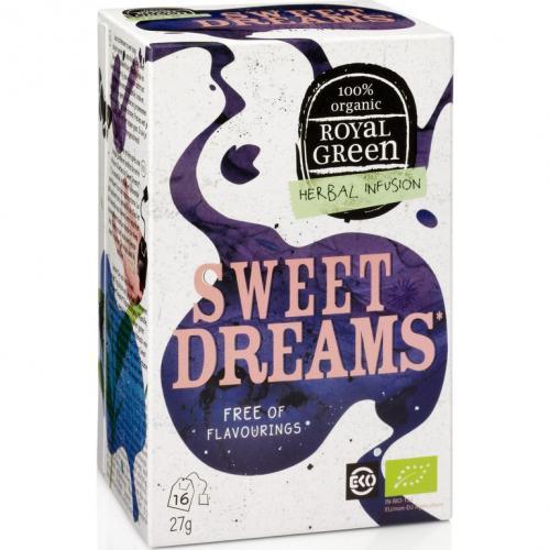 Royal Green Biologische Sweet Dreams Thee 16 Zakjes