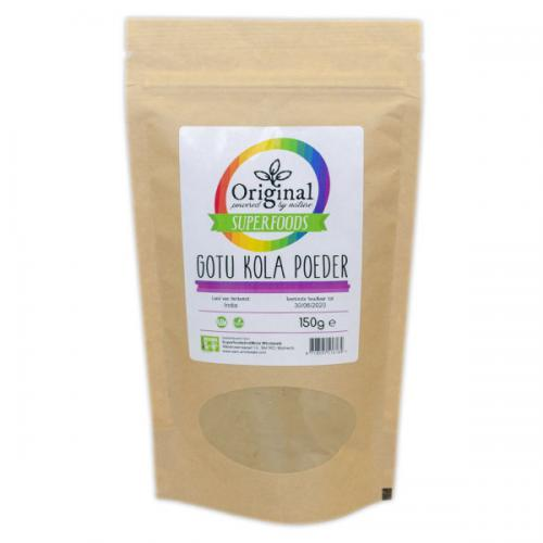 Original Superfoods Gotu Kola Poeder 150 Gram