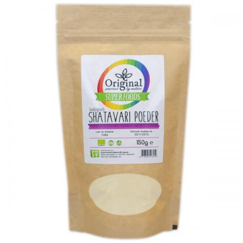 Original Superfoods Biologische Shatavari Poeder 150 Gram