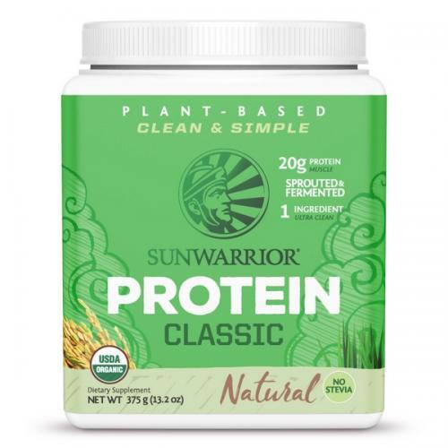 Sunwarrior Classic Proteine Naturel smaak - 375 Gram