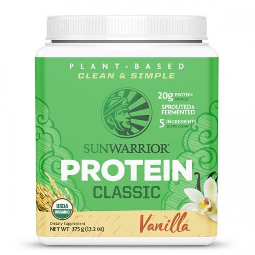 Sunwarrior Classic Proteine Vanille Smaak - 375 Gram