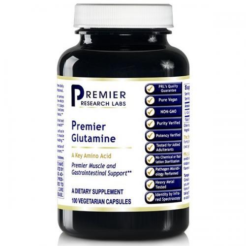 PRL -  Premier Glutamine - 100 vegan Caps