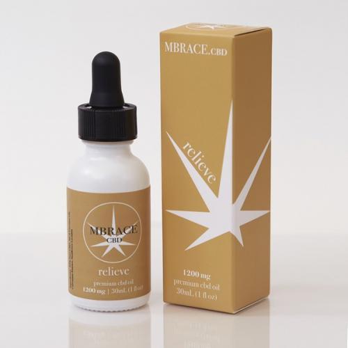 Relieve - 1200 mg - MBRACE CBD