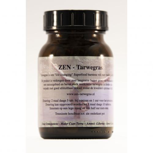 Tarwegras - Zen - 300 Tabs van 500 mg