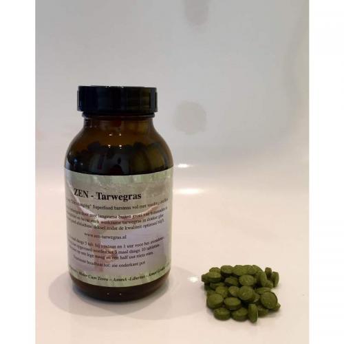 Tarwegras - Zen - 600 tabletten a 500 mg