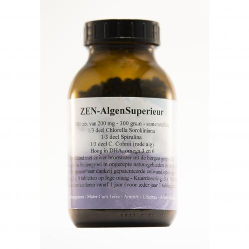 AlgenSuperieur - Zen - 1500 tabs van 200 mg
