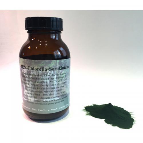 Chlorella - 100% Sorokiniana Alg - ZEN - 300 gram poeder