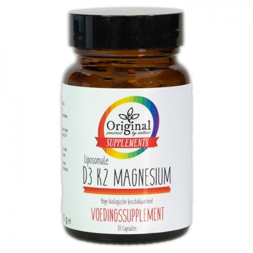 Liposomale D3 + K2 Magnesium 30 V-Caps - Original Supplements