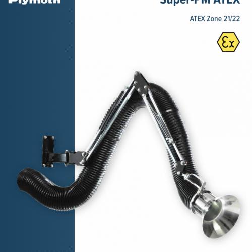 Afzuigarm ATEX gegalvaniseerd staal