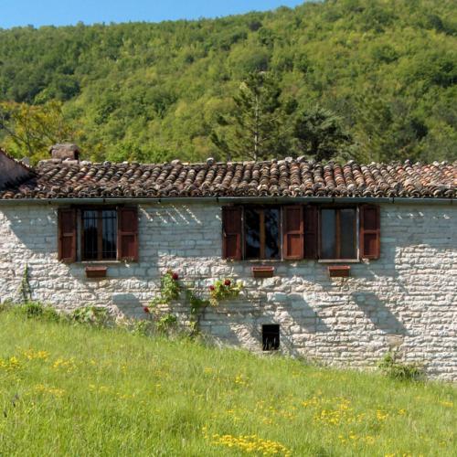 Casale Ca'Rio omgeving Acqualagna, Le Marche