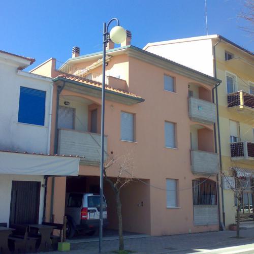 Appartement aan de Adriatische zee in Marotta Le Marche
