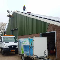 MK dienstverlening - Zonnepaneelreiniging