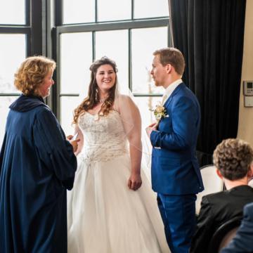 Liefbruidspaar - Elize en Christian, 18 maart 2016, Landgoed Te Werve
