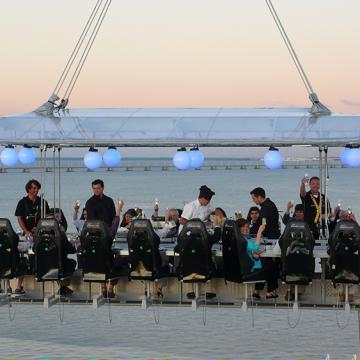Dinner in the Sky Nederland - Lisbon