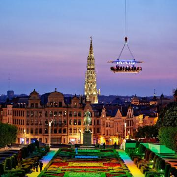 Dinner in the Sky Nederland - Brussel