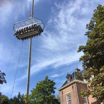 Dinner in the Sky Nederland - Wassenaar 2017