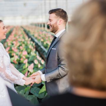 Liefbruidspaar - Styled Fotoshoot jan. 2018 - weddingplanner Tara Koole - fotograaf Eduard van der Kulk, Bruidsfotograaf.nl