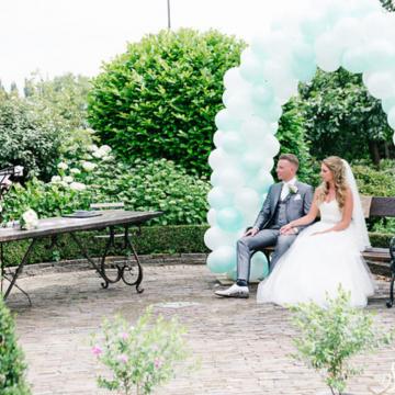 Liefbruidspaar - Roos en Mike - Alles is liefde! 16 juni 2018