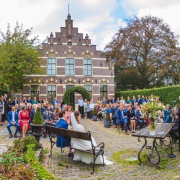 Liefbruidspaar - 20 oktober 2018...nog trouwen in de Trouwtuin...