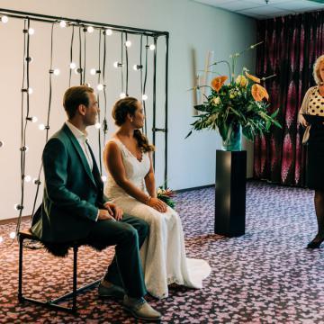Liefbruidspaar - Styled Shoot 3, hotel Ridderkerk by Brian Fotografie