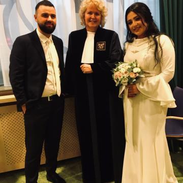 Liefbruidspaar - Winterhuwelijk, 11 januari 2019